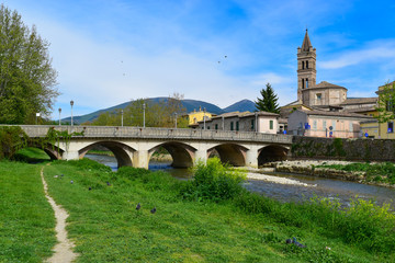 Foligno (Italy) - A beautiful medieval city in Umbria region, central Italy