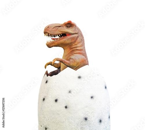 Dinosaur at egg