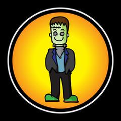 devil cute vector cartoon character