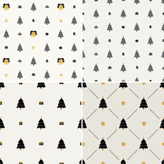 Christmas pattern, seamless. Merry  card decoration. Ha