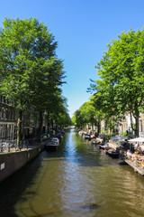 Kanal (Gracht) in Amsterdam