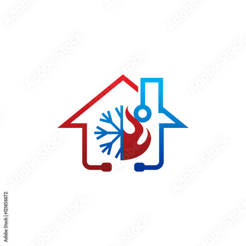 Quot Climate Doctor Hvac Logo Icon Quot Stock Image And Royalty