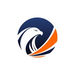 Falcon Logo Vector Image Icon