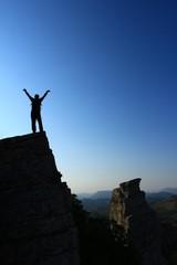 Riskli Tırmanış & Zirve Kayalıklarında Başarı