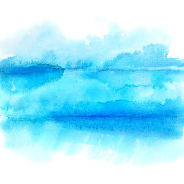 Blue lines - abstract