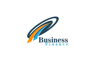 consulting business finance logo