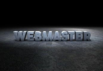webmaster, designer, typography, 3D scene
