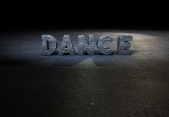 Dance, Typography