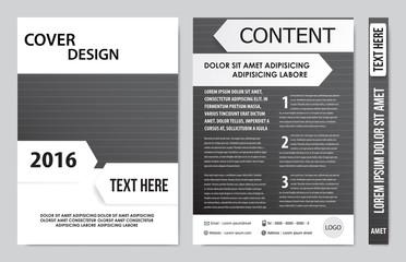 book cover presentation
