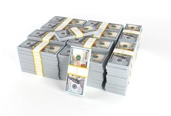 Pile of Dollars Cash Money