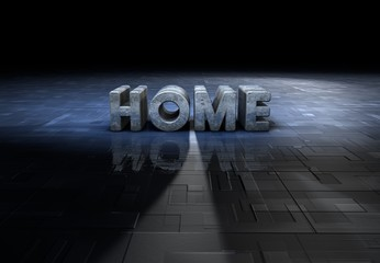 Home, Typography