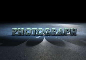 Photography, Typography