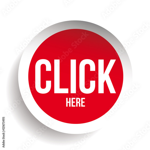 """Click here icon button"" Stock image and royalty-free ..."