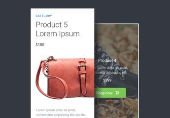 Basic Product UI Kit