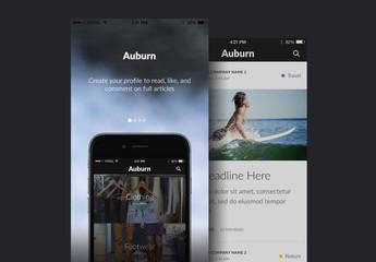 Auburn UI Kit