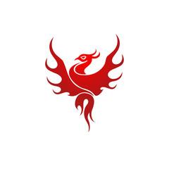 Phoenix Logo Icon Vector Image Icon