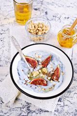 Dessert made with ricotta