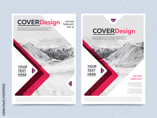 Cover Design For Annual Report Or Brochure Booklet Or Flyer - Brochure booklet templates