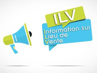 mégaphone : ILV