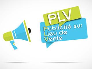 mégaphone : PLV