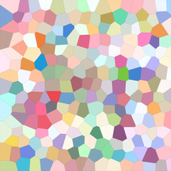 Playful mosaic abstract background