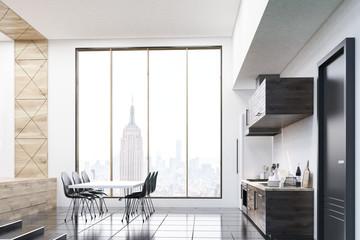 Studio flat with kitchen corner