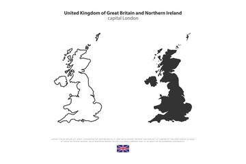Map Of Uk Template.Search Photos Uk Vector