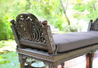 beautiful vintage bench