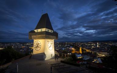 Graz, Uhrturm am Grazer Schlossberg