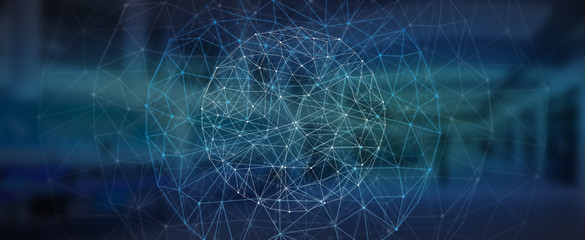 Modern digital data network