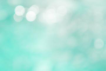 Texture bokeh style , summer bokeh blue wave blur style backgrou