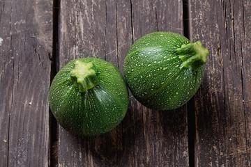 Round mini Zucchini