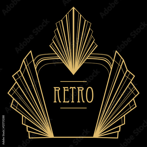 Peachy Art Deco Geometric Pattern 1920S Style Stock Image And Download Free Architecture Designs Grimeyleaguecom
