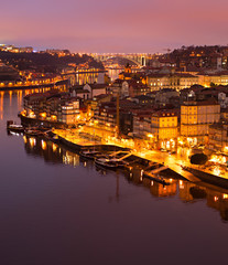 Wall Mural - Aerial view of Porto, Portugal
