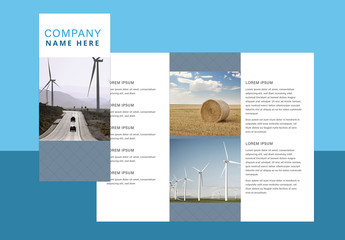 Simple Brochure Layout