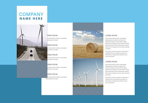 Simple Brochure Layout