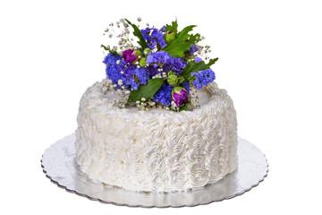Wedding white cake.