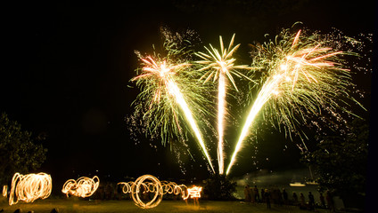June Discovery Festival Fireworks Cooktown