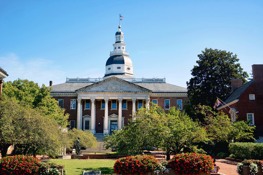 Maryland State Capital Building.