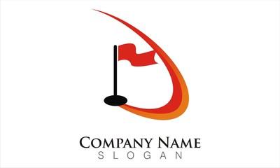 simple golf logo