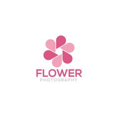 Photography creative logo design vector