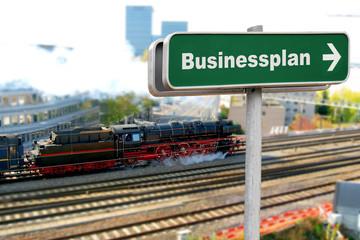 Schild 150 - Businessplan
