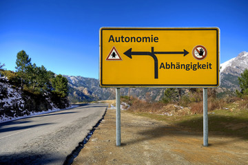 Schild 160 - Autonomie