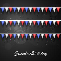 Australia Queen's Birthday Celebrations Background