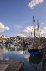 Brixham harbour, Devon, England