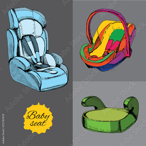 set baby seat for car. All categories, infant, child and pupil w