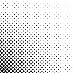 Abstract monochrome dot pattern background