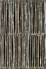 Bamboo fence, Siem Reap, Angkor, Cambodia