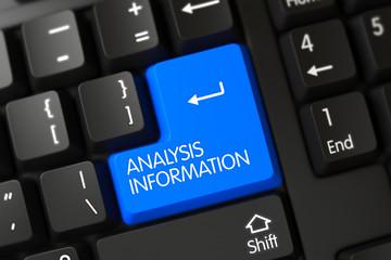 Analysis Information - PC Keypad. 3D.