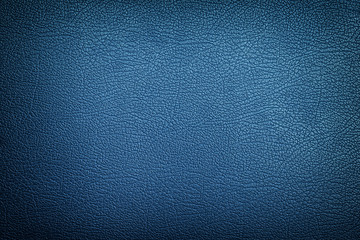Blue leather texture background Wall mural